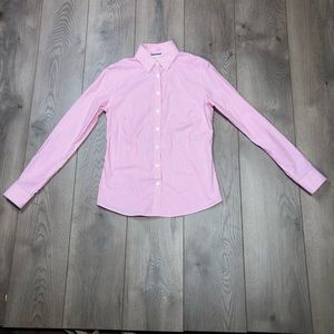 Banana Republic Pink And White Stripe 4P